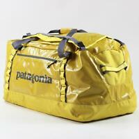Patagonia Black Hole Duffel 120 Litre Capacity Chromatic Yellow Weatherproof