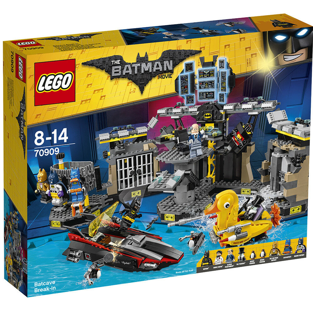 LEGO Batman Movie 70909  Batcave Break-in - Brand new