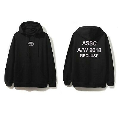DS Auth Anti Social Social Club ASSC logo Kkoch Black Hoodie Supreme new