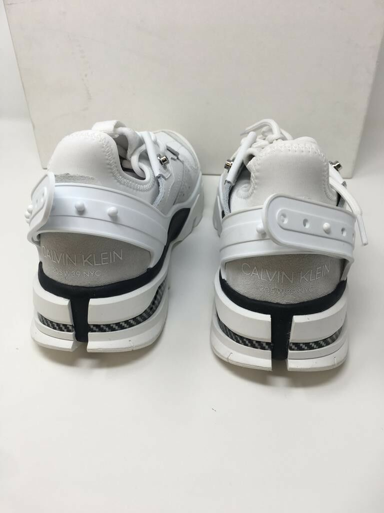 Calvin Klein Baskets Collection 205W39NYC carla daim-EmpièceHommes ts Cuir Baskets Klein c68f35