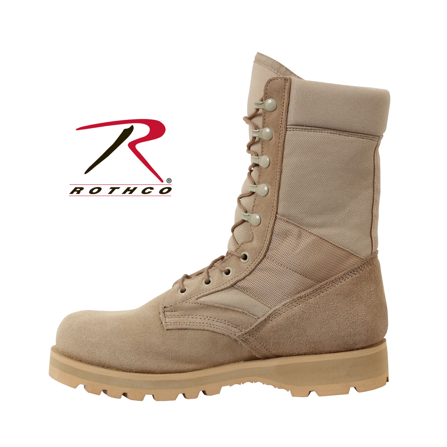 Rothco 5257 G.I. Type Sierra Sole Tactical Stiefel - - - Desert Tan 9777c6