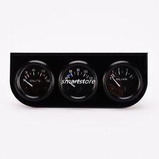 3 In 1 Oil Temp Water Temp Oil Pressure Gauge Sensor For Auto Car Truck Meter
