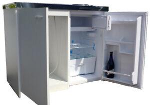 Küche Singleküche Kühlschrank Herd Büro Single Mini Pantryküche ... | {Singleküche mit kühlschrank 66}