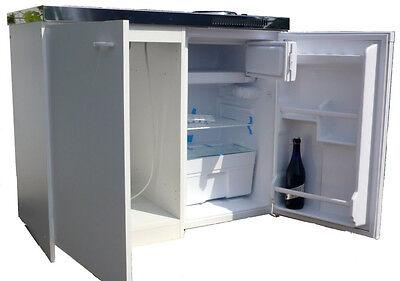 Küche Singleküche  Kühlschrank Herd Komplettküche Pantryküche Küchenzeile B-Ware