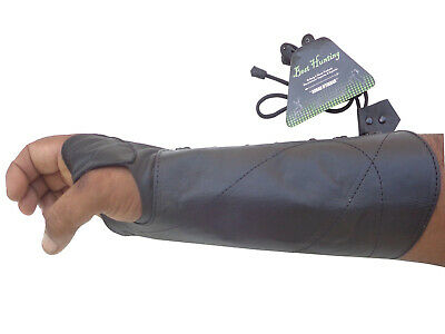 BLACK COW LEATHER SHOOTING ARM GUARD ARCHERY PRODUCTS AG-8400 R-HAND