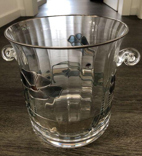 Nagel Sekt-/Flaschenkühler Tiffany Glas Handarbeit wunderschön