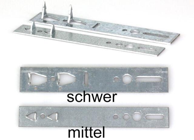 Simonswerk Hessenkralle Länge 140mm Breite 25mm Stärke 2mm schwer verzinkt