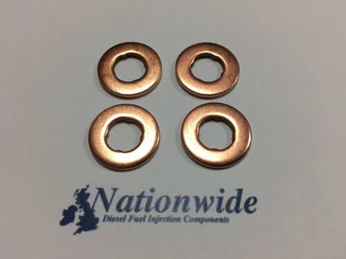 BMW 320 d Coupe 2.0 Common Rail Diesel Injector Washers//Seals x 4