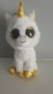 TY-Beanie-Boo-Plush-L-039-Unicorno-Pegasus-15cm