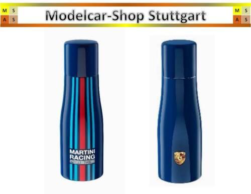 Porsche Thermoflasche Martini Racing 1 Liter dunkelblau 100/% Edelstahl