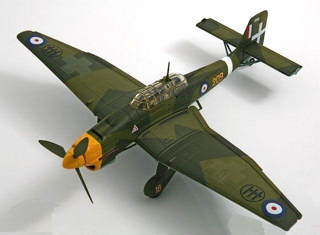 Corgi Aviation AA32513 - Ju 87R-2 87R-2 87R-2 Stuka, Collectors Club 2007 Captive Eagle 11 811e04