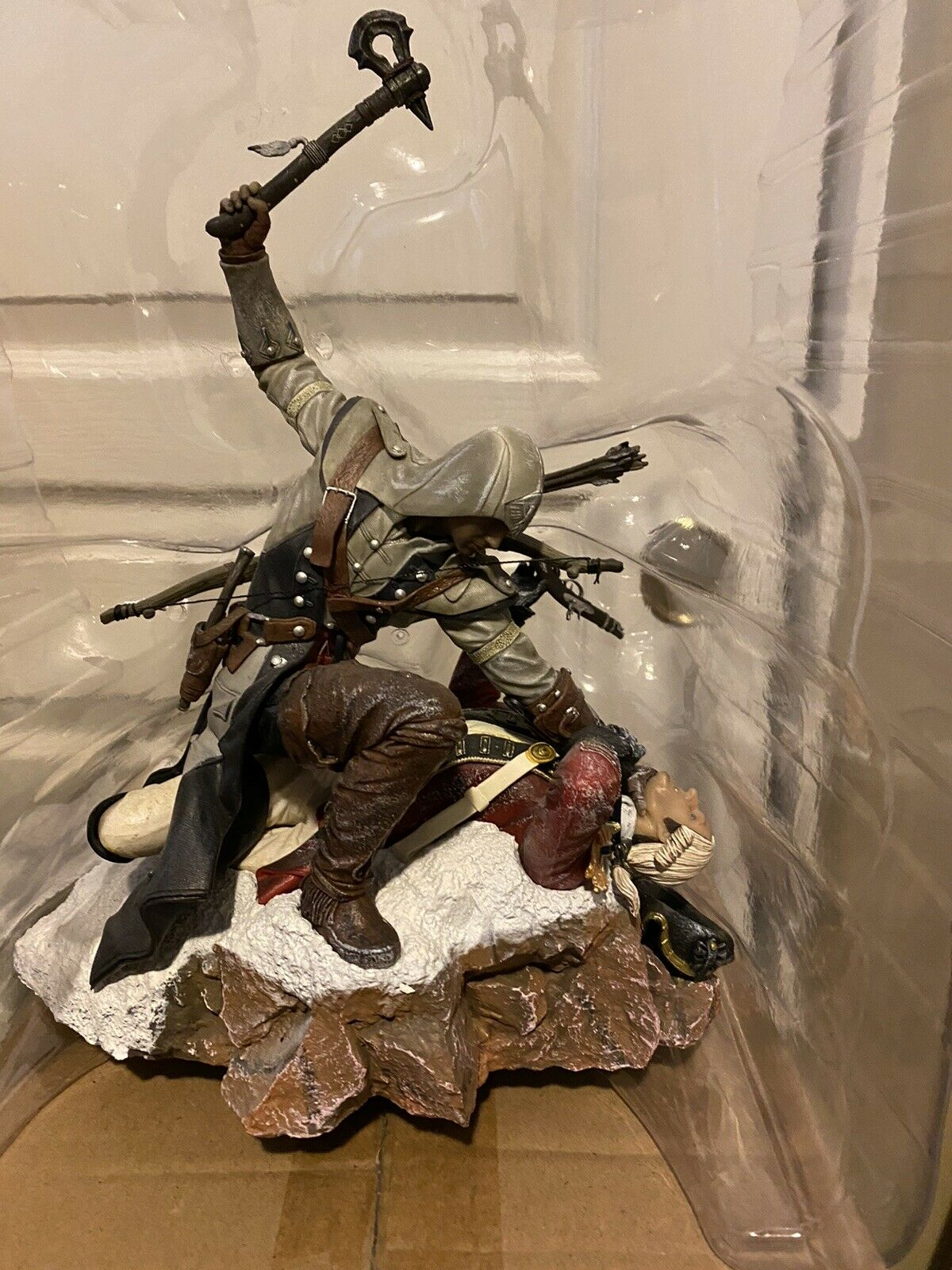 Assassin's Creed Statue Connor Kenway Last Breath Very RARE