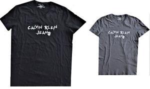 T-Shirt-Maglietta-Calvin-Klein-Uomo-Maniche-Corte-Scollo-V-Men-T-Shirt-V-Neck