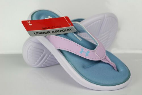 Under Armour Girl/'s UA Marbella VI Sandals Purple Ace White Boho Blue 3000073