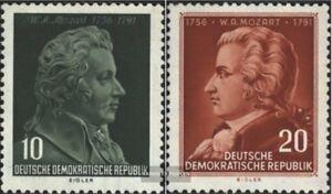 DDR-510-511-kompl-Ausg-postfrisch-1956-200-Geburtstag-von-Mozart