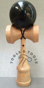 Quality-Black-Wooden-Kendama-Beech-Wood-Competition-Wood-Toy-Glistening-Finish