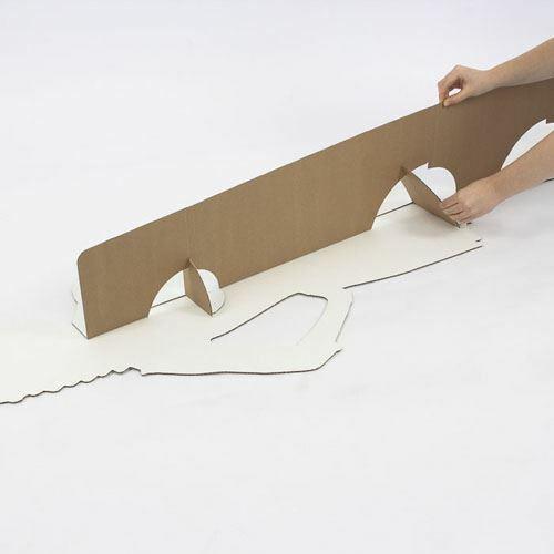 Black Dress Standee. Donna D/'Errico Cardboard Cutout lifesize