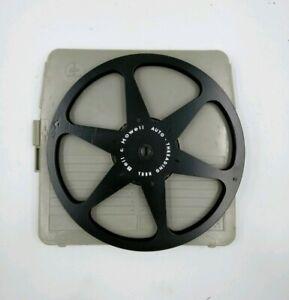 SPOOL-FILM-REEL-BELL-HOWELL-EMPTY-FILM-REEL-Spool-16MM-Bolex-Case