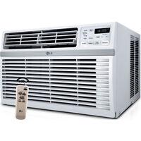 Lg 15000 Btu Energy Star Window Air Conditioning, 115v Ac Unit W/ Remote Control