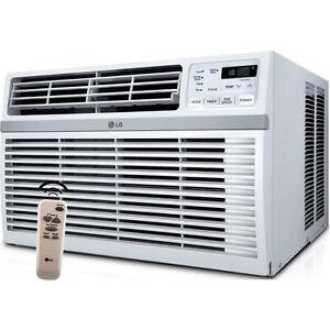 lg 15000 btu energy star window air conditioning 115v ac unit w remote control ebay. Black Bedroom Furniture Sets. Home Design Ideas