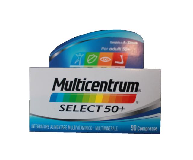 MULTICENTRUM Select 50+ 90Cpr - super offerta