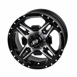 3.0 Machined//Black for Can-Am Maverick 1000 XC 2016-2018 4//137 Tusk Beartooth Wheel 14x7 4.0