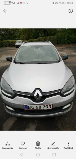 Renault Megane III, 1,5 dCi 110 Limited Edition ESM,…