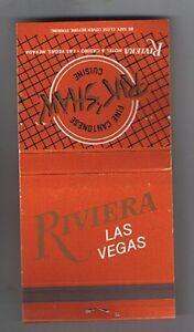 NOW CLOSED VINTAGE RIVIERA HOTEL LAS VEGAS KADY/'S BRASSERIE FOOD ORDER CHECKS