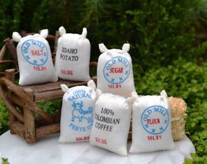 Buy 3 Save $5 Miniature Dollhouse Fairy Garden Set of 3 Hay Bales