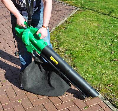 2600w 35l Debris Electric Hoover Vacuum Vac Garden Leaf