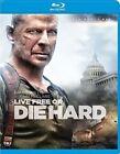 Live or Die Hard 2 PC W DVD 0024543838203 Blu Ray Region a