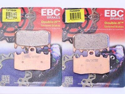 EBC HH Front /& Rear Brake Pads Set 2002-2013 BMW R1200GS /_FA335HH|FA363HH