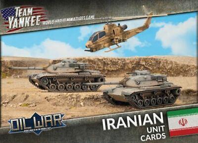 Iranien Decal Set Battlefront Miniatures Brand New TIR950