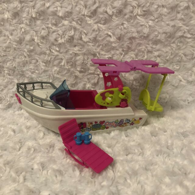 Polly Pocket Tropical Splash Adventure Boat