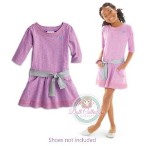 American Girl CL MY AG LILAC DRESS SIZE 16 for Girl Purple Silver Large NEW