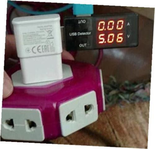 USB Charger Doctor voltmeter ammeter Amp Voltage Tester Detektor Hot Sell