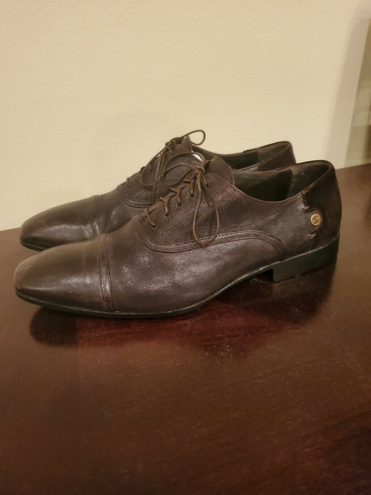 Roberto Cavalli Men's new shoes shoes Brown 9US ( 42Eu )