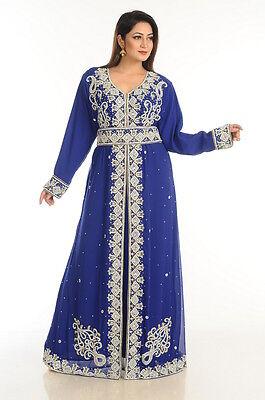 Sale ! Elegant Modern Maxi Online Moroccan Kaftan Jalabiya For women Gown Floor Length Abaya Farasha Jilbab Party Wear Takshita Var Gown