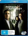 Person Of Interest : Season 1 (Blu-ray, 2012, 4-Disc Set)
