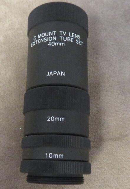 DVT LNC-XKIT 10mm, 20mm, 40 mm C Mount Extension Tube Kit