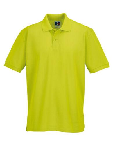 RUSSELL Poloshirt Herren Men Classic Cotton Polo Shirt Übergröße bis 4XL 569 NEU