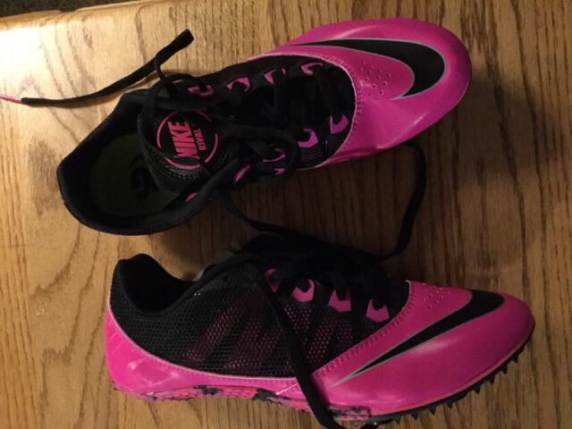 new arrival e99dd 6dce3 Nike Rival S Racing Sprint Pink Black Cleats (not Included) Sz 8 New