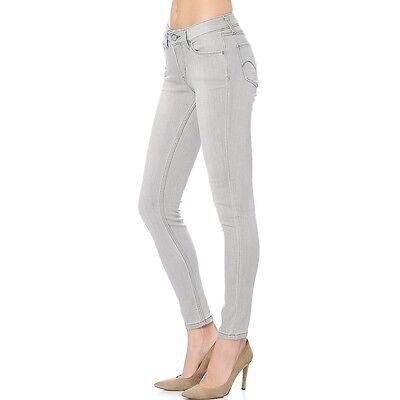 Levi's Women's 535's WORN IN GREY Super Skinny Stretch Jean Leggings  REF:Z3G