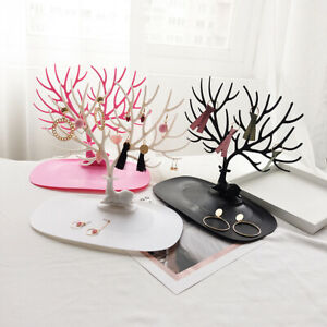Deer-Tree-Jewelry-Stand-Display-Show-Rack-Holder-Necklace-Earring-Ring-Organizer