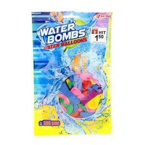 Toy-Toys-65158A-100-Stueck-Wasserbomben-Bunte-Wasserbomben-Sommer-Kinder