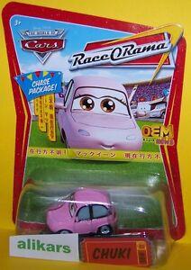 CHUKI-Chase-Giocattolo-Mattel-Cars-1-55-Disney-Auto-Modellini-Metallo-Diecast