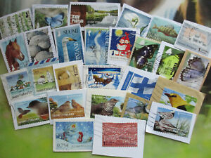 Finland-kiloware-on-paper-Eurotime-up-to-2019-LOT-2-100-different-ALL-LARGE