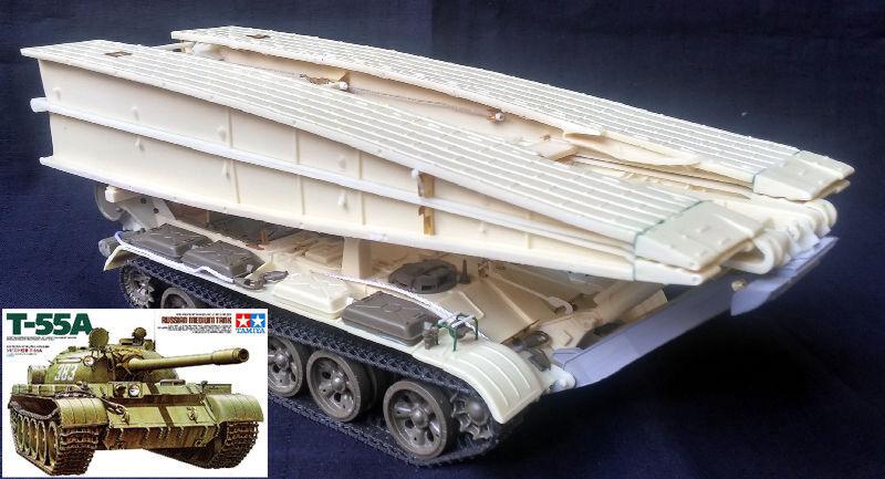 MT-55 Bridging tank & Tamiya T-55A COMBI set 1 35 PanzerShop
