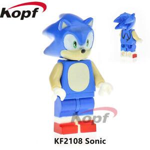 Super Sonic The Hedgehog Hero Game Rare Minifigure Moc Fits Lego Knuckles Movie Ebay