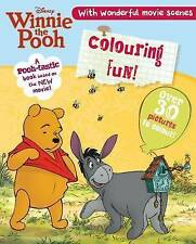 Winnie the Pooh the Movie - Colouring, Parragon Books, New Book